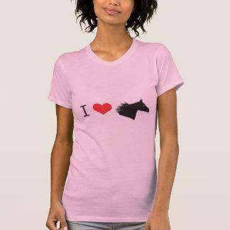 Amo el caballo camiseta
