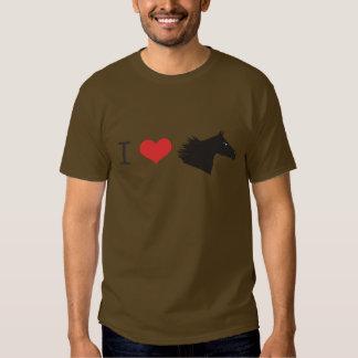 Amo el caballo camisetas