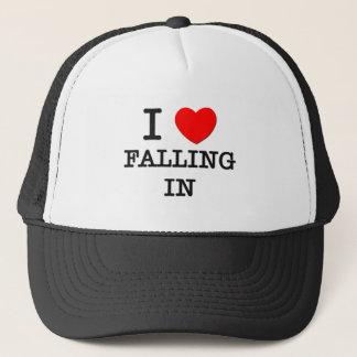 Amo el caerme adentro gorra de camionero