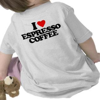 AMO EL CAFÉ DEL CAFÉ EXPRESS CAMISETA