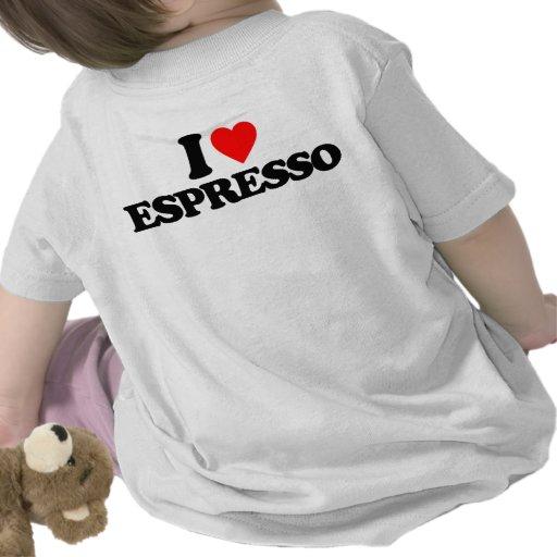 AMO EL CAFÉ EXPRESS CAMISETA