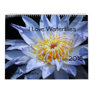 AMO EL CALENDARIO DE WATERLILIES 2018