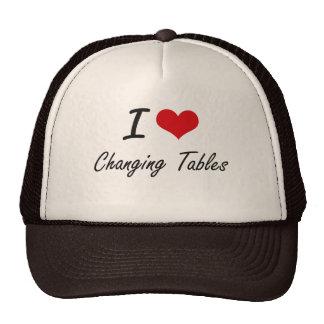 Amo el cambiar de diseño artístico de las tablas gorras de camionero