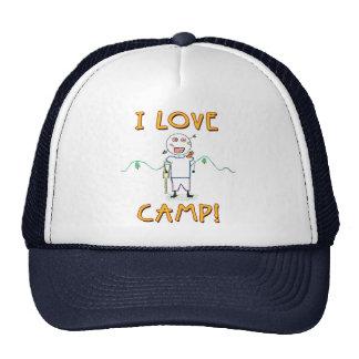 Amo el campo - el campamento de verano del niño gorra