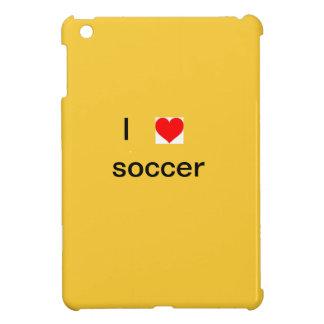 Amo el caso del fútbol iPad mini cobertura