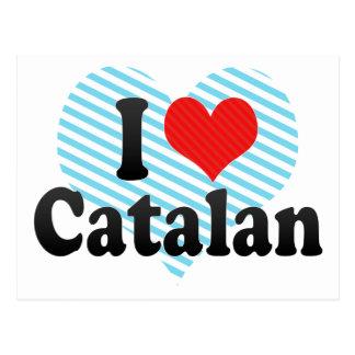 Amo el catalán postal