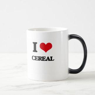 Amo el cereal taza