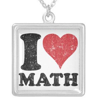 Amo el collar de la matemáticas