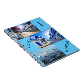 AMO el cuaderno de la foto de TÚNEZ