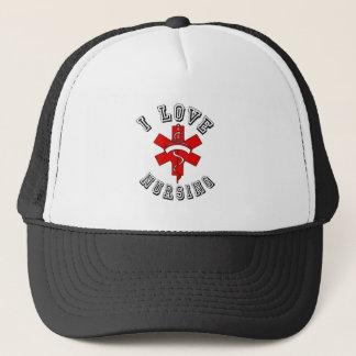 amo el cuidar de salud gorra de camionero