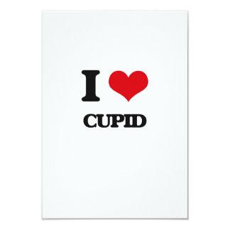 Amo el Cupid Invitación 8,9 X 12,7 Cm