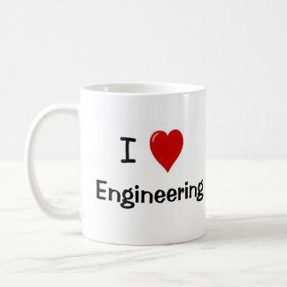 Amo el dirigir - la ingeniería me ama taza de café