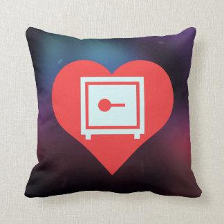 Amo el diseño casero de las cajas fuertes almohada