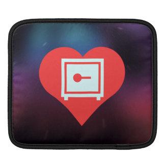 Amo el diseño casero de las cajas fuertes manga de iPad