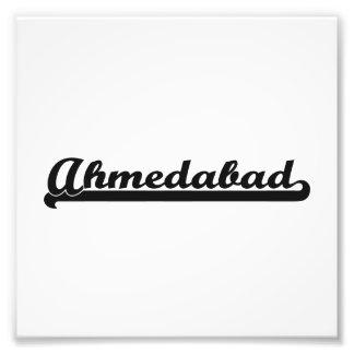 Amo el diseño clásico de Ahmadabad la India Fotografia