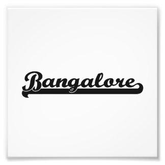 Amo el diseño clásico de Bangalore la India Fotos