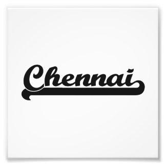 Amo el diseño clásico de Chennai la India Cojinete