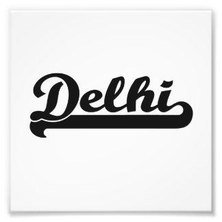 Amo el diseño clásico de Delhi la India Impresión Fotográfica