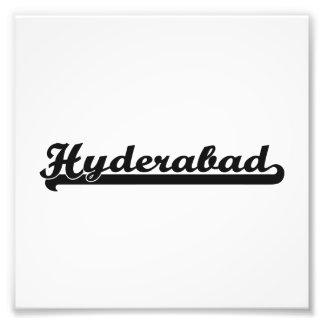 Amo el diseño clásico de Hyderabad la India Fotos