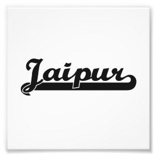 Amo el diseño clásico de Jaipur la India Impresiones Fotográficas