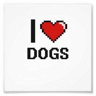 Amo el diseño de Digitaces de los perros Fotos