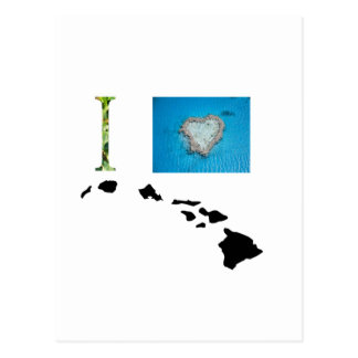 Amo el diseño de Hawaii Postal