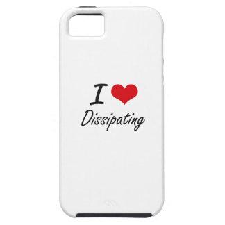 Amo el disiparme iPhone 5 protector