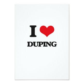 Amo el Duping Invitación 12,7 X 17,8 Cm