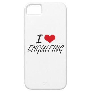 Amo el ENGULLIR iPhone 5 Case-Mate Protectores