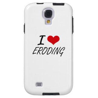 Amo el EROSIONAR Funda Para Galaxy S4