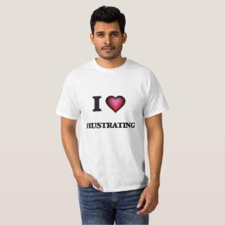 Amo el frustrar camiseta