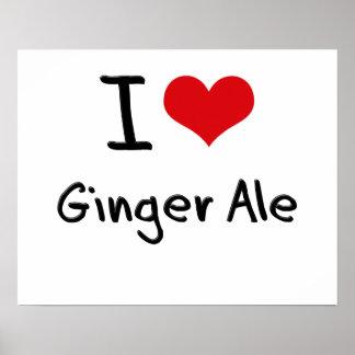 Amo el ginger ale posters