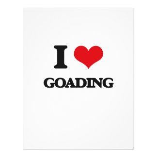 Amo el Goading Tarjetas Informativas