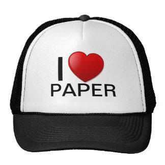 ¡Amo el gorra de papel!
