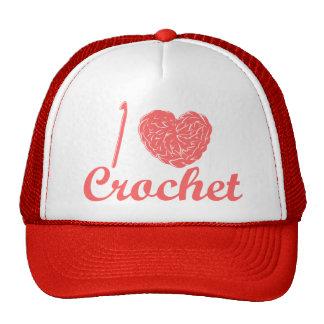 Amo el gorra del ganchillo