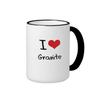 Amo el granito tazas de café