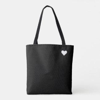 Amo el hacer compras bolsa de tela