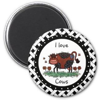 Amo el imán de las vacas