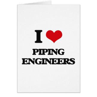 Amo el instalar tubos de ingenieros felicitacion