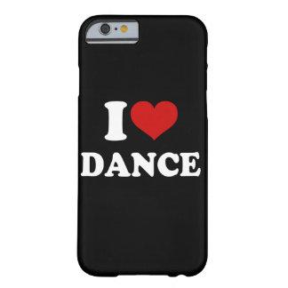Amo el iPhone 6/6s de la danza Funda De iPhone 6 Barely There