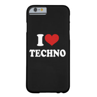 Amo el iPhone 6/6s de Techno Funda Para iPhone 6 Barely There