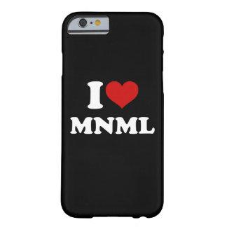 Amo el iPhone mínimo 6/6s Funda Para iPhone 6 Barely There