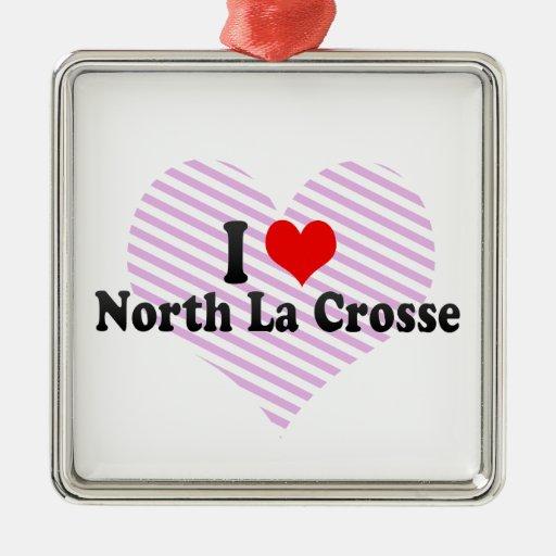 Amo el La del norte Crosse, Estados Unidos Adornos De Navidad
