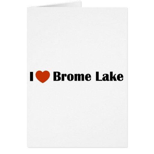 Amo el lago Brome Felicitaciones