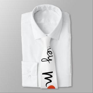 Amo el lazo fresco del dinero, loco y corbata personalizada