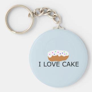 Amo el llavero de la torta