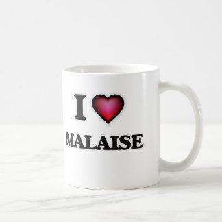 Amo el malestar taza de café