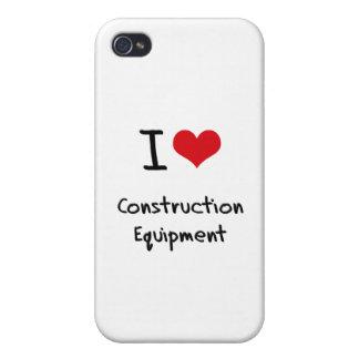Amo el material de construcción iPhone 4 protector