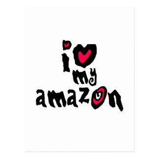 Amo el mi Amazonas Postal
