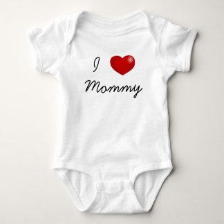 Amo el mono del bebé de la mamá, puente, jersey